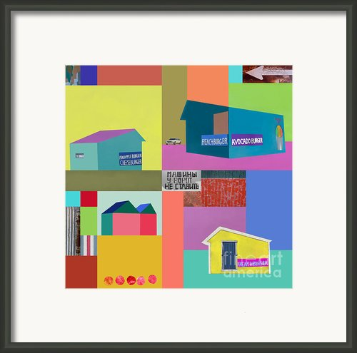 Burger Joint #2 Framed Print By Elena Nosyreva