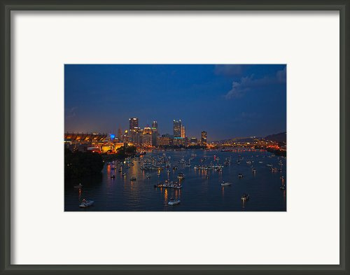 Burgh At Blue Hours Framed Print By Ziaur Rahman