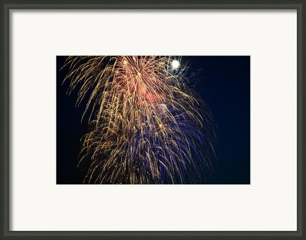 Bursting In Air Framed Print By Ronda Broatch