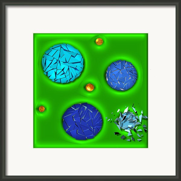 Bursting Point Framed Print By Wendy J St Christopher