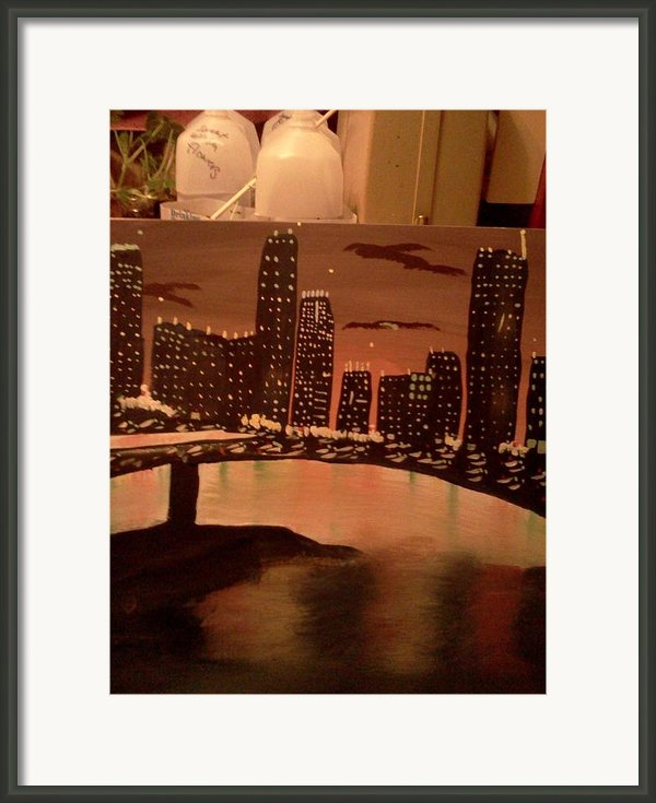 Busy Ness Framed Print By Renee Mcknight