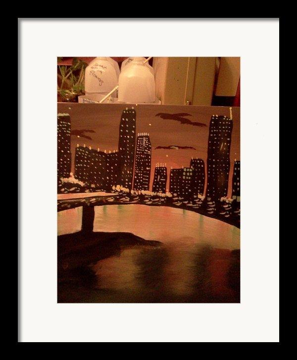 Busy Ness Framed Print By Renee Mcknight