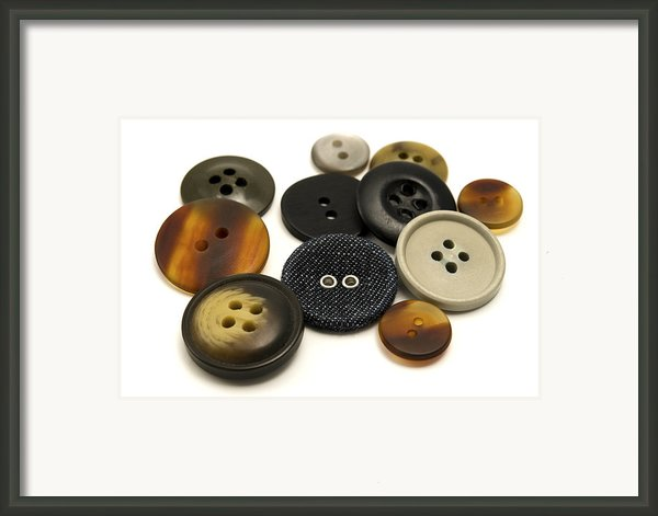 Buttons Framed Print By Fabrizio Troiani