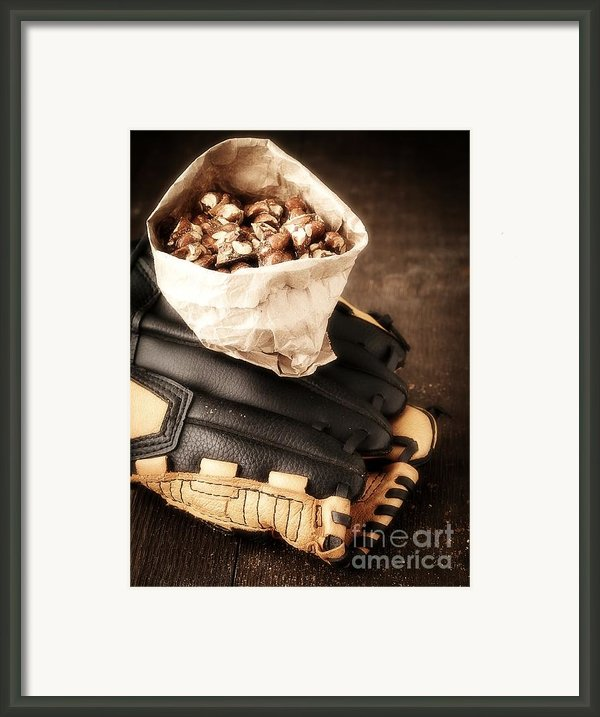 Buy Me Some Peanuts And Cracker Jack Framed Print By Edward Fielding