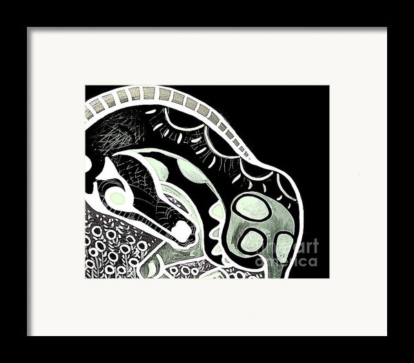 Bw Horse Framed Print By Amy Sorrell