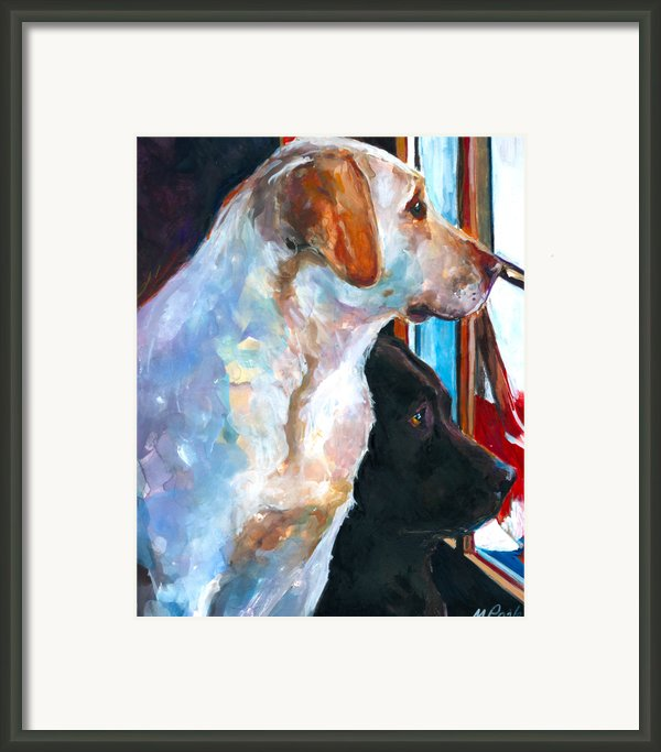 By My Side Framed Print By Molly Poole