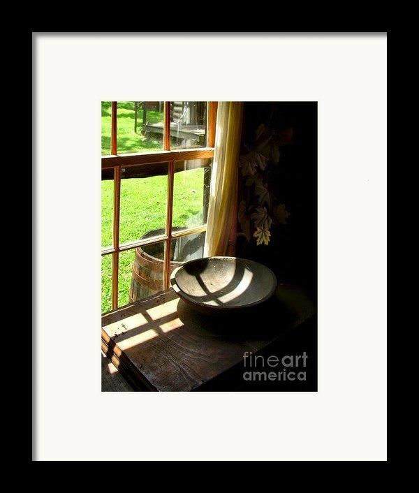 Cabin Crosses I Framed Print By Julie Dant