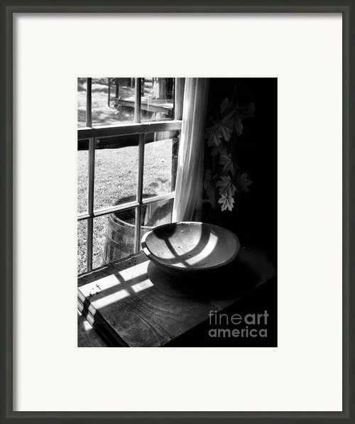 Cabin Crosses Ii Framed Print By Julie Dant