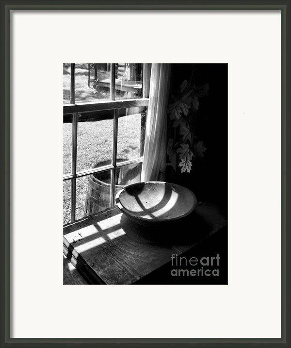 Cabin Crosses Ii Framed Print By Julie Dant