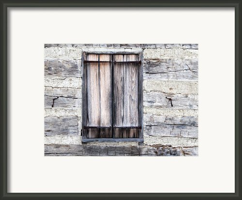 Cabin Fever Framed Print By Dale Kincaid