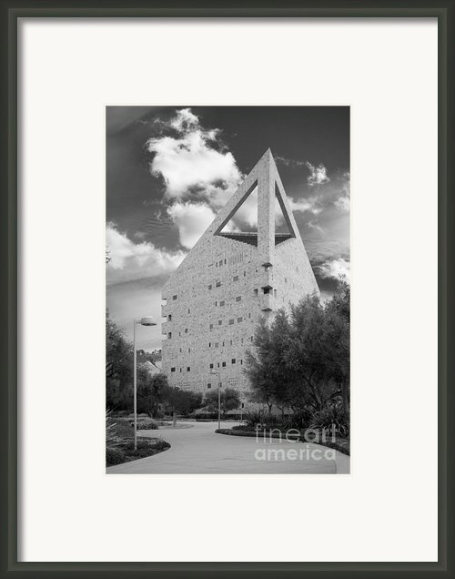 Cal Poly Pomona C L A  Framed Print By University Icons
