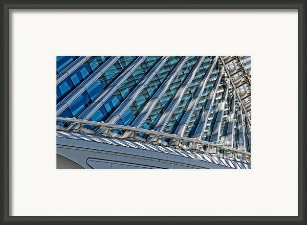 Calatrava In The Morning Framed Print By Mary Machare