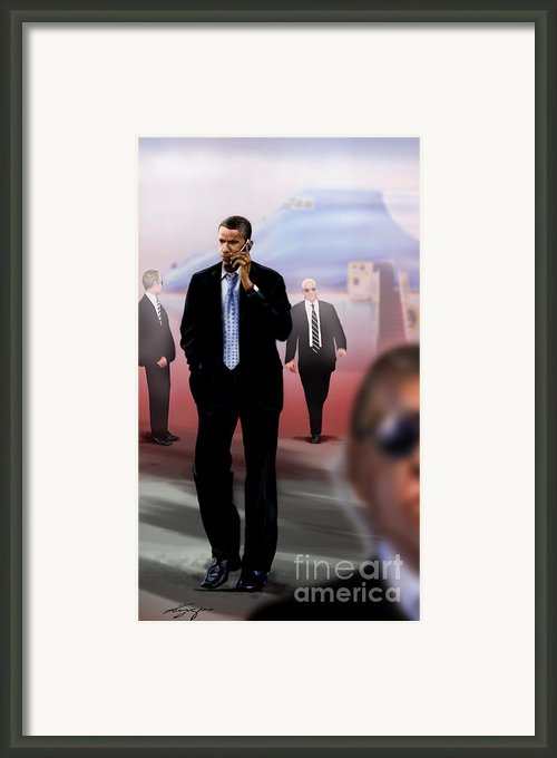 Calling In Hit Markers-smooth Operator 1 Framed Print By Reggie Duffie