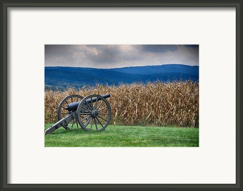 Calm Before The Storm 1 Framed Print By Rhonda Negard