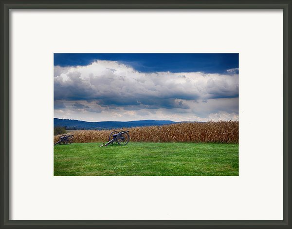 Calm Before The Storm 2 Framed Print By Rhonda Negard