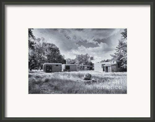Camp 30 Number 2 Framed Print By Steve Nelson