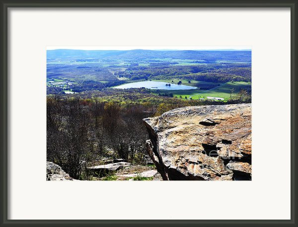 Canaan Valley From Valley View Trail Framed Print By Thomas R Fletcher