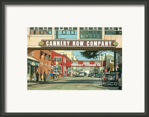 Cannery Row Monterey California Framed Print By Author And Photographer Laura Wrede
