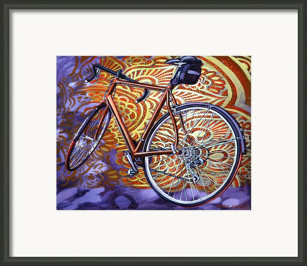 Cannondale Framed Print By Mark Howard Jones