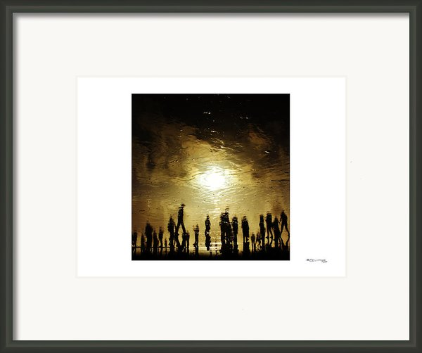 Cannot Recall Framed Print By Xoanxo Cespon