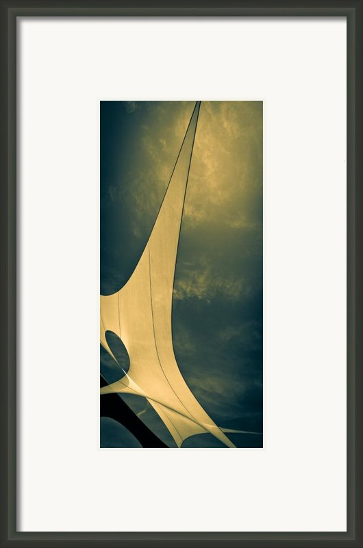 Canvas Sky Framed Print By Bob Orsillo