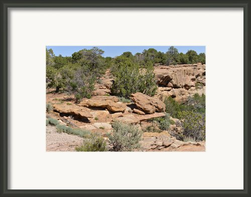 Canyon De Chelly - A Blend Of Cultures Framed Print By Christine Till
