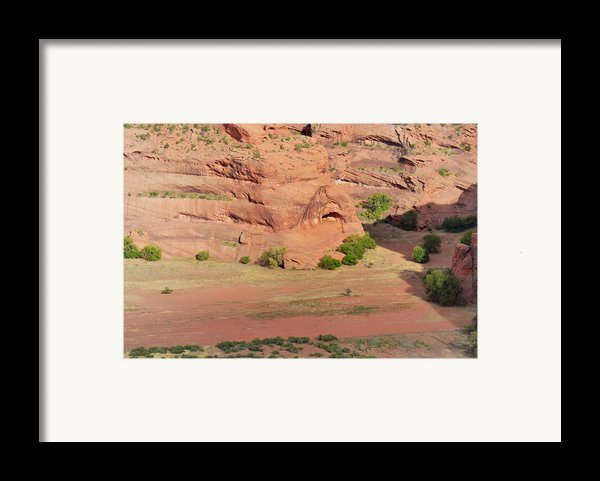 Canyon De Chelly From White House Ruins Trail Framed Print By Christine Till