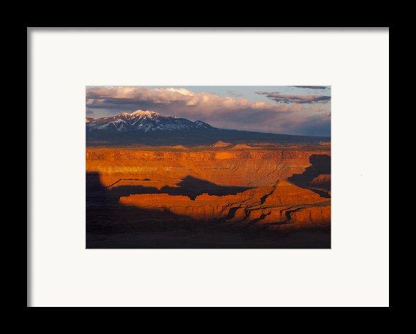 Canyonlands Light Framed Print By Joseph Rossbach