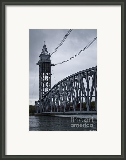 Cape Cod Railroad Bridge No. 2 Framed Print By Dave Gordon