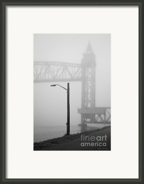 Cape Cod Railroad Bridge No. 3 Framed Print By Dave Gordon