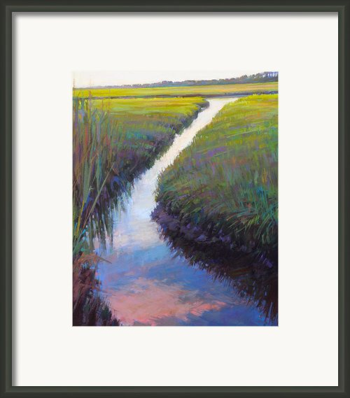 Cape Marsh Framed Print By Ed Chesnovitch