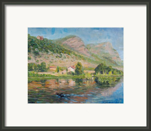 Capodifiume Framed Print By Marco Busoni