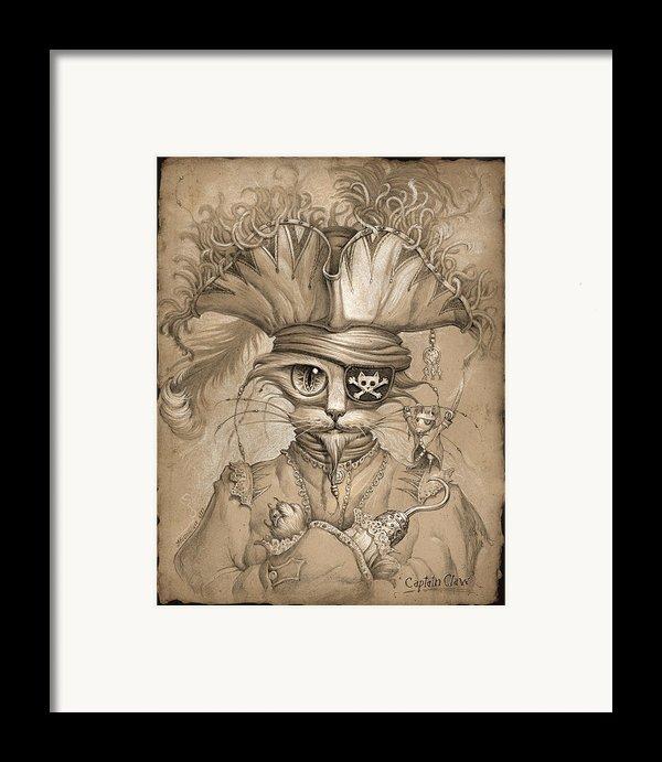 Captain Claw Framed Print By Jeff Haynie