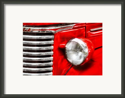 Car - Chevrolet Framed Print By Mike Savad