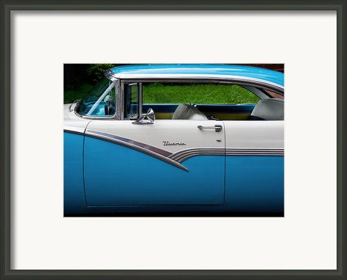 Car - Victoria 56 Framed Print By Mike Savad