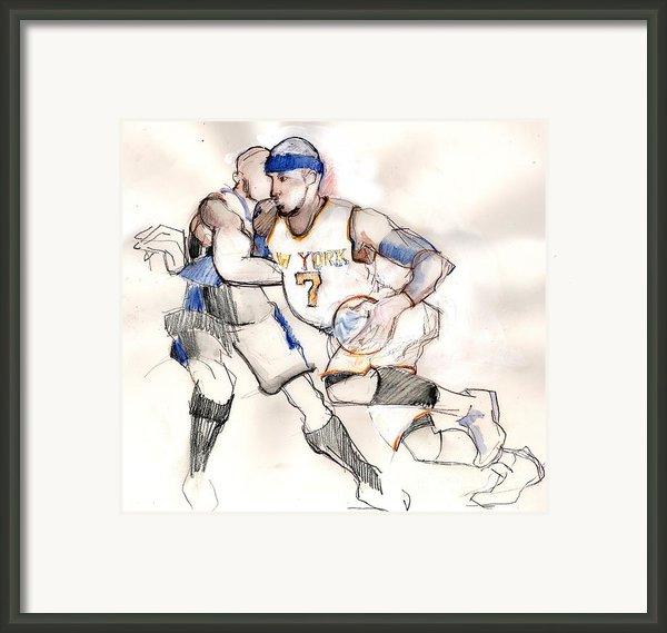 Carmelo Framed Print By Carolyn Weltman