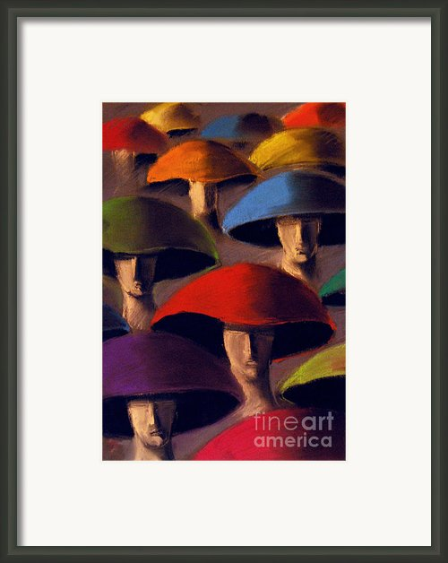 Carnaval Framed Print By Emona Art