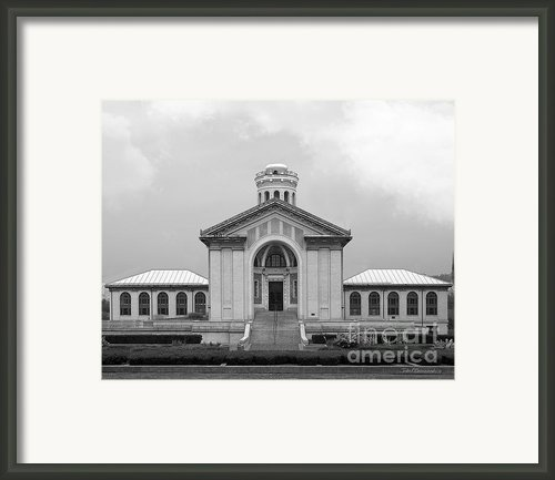 Carnegie Mellon University Hamerschlag Hall Framed Print By University Icons