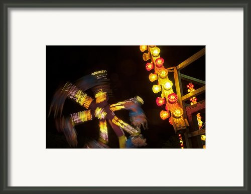 Carnival Fun Framed Print By Scott Norris
