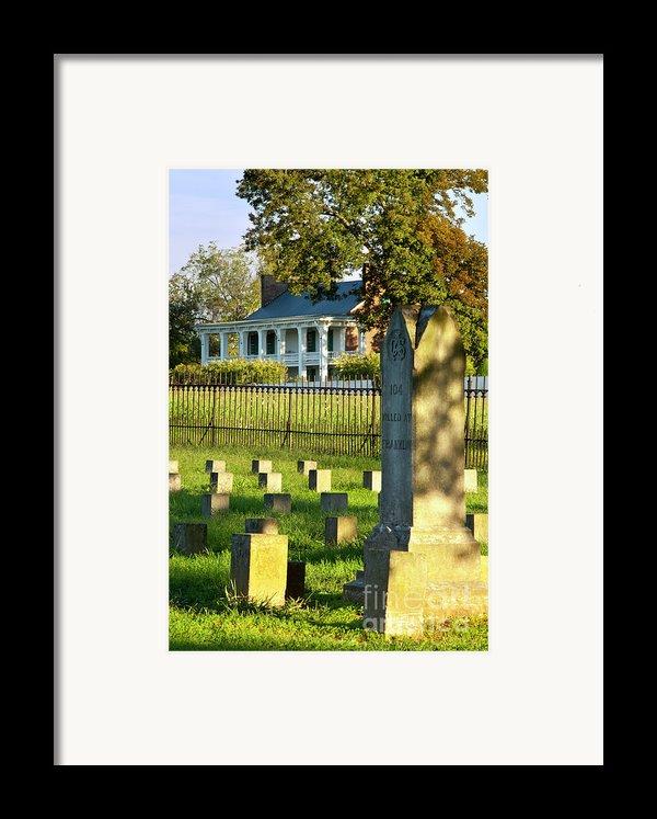 Carnton Plantation Framed Print By Brian Jannsen