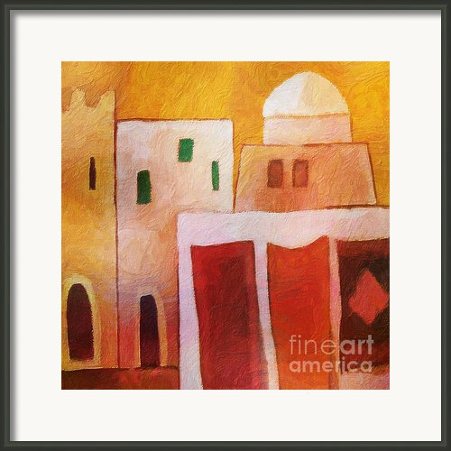 Carpet Town Framed Print By Lutz Baar