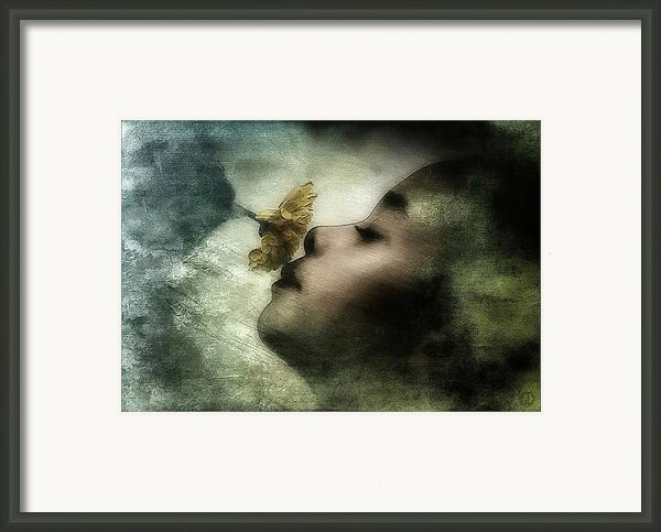 Carried Away By A Scent Framed Print By Gun Legler