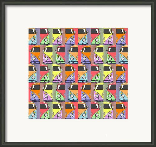 Cars Abstract  Framed Print By Mark Ashkenazi