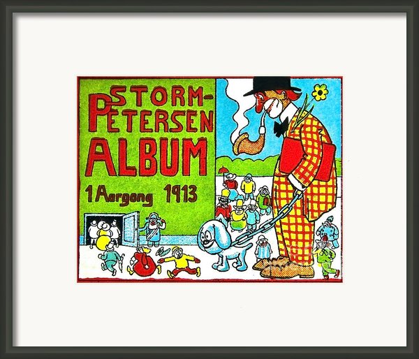 Cartoon 01 Framed Print By Svetlana Sewell