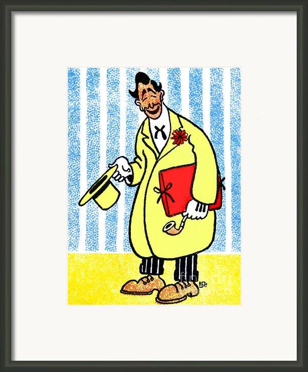 Cartoon 04 Framed Print By Svetlana Sewell