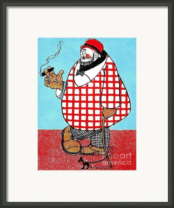 Cartoon 05 Framed Print By Svetlana Sewell