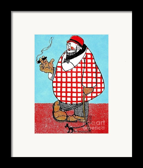 Cartoon 05 Framed Print By Svetlana Sewell