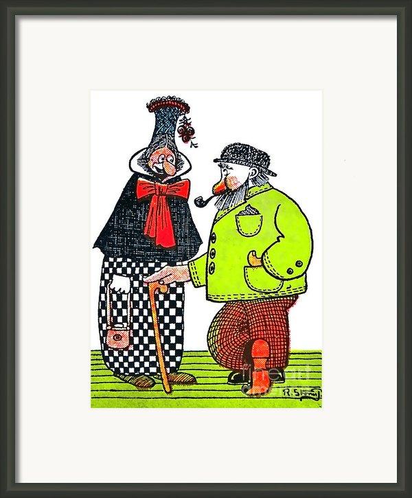 Cartoon 08 Framed Print By Svetlana Sewell