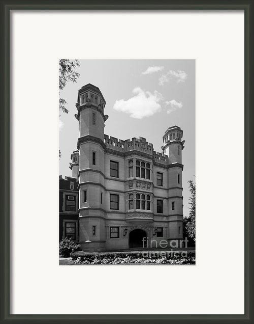 Case Western Reserve University Mather Memorial Building Framed Print By University Icons
