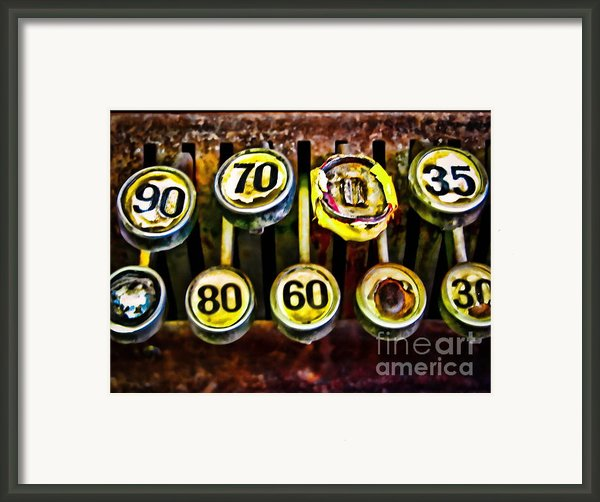 Cash Out Framed Print By Colleen Kammerer